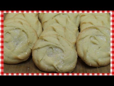 Viennese Melt Away Cookies ~ European Butter Cookie Recipe ~ Eggless Cookies ~ Noreen's Kitchen