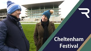 Cheltenham Course Walk with Ruby and Lydia - Racing TV