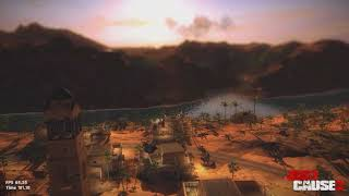 Just Cause 2 PC Benchmarks ULTRA 1440p (Nvidia 1080 Founder's Edition Hybrid Conversion)