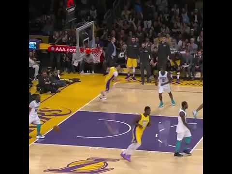 Lonzo Ball crosses Kemba Walker...finishes with Nasty Dunk | NBA Highlights