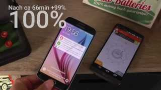 Samsung Galaxy S6 Schnelllade-Funktion im Test (German)