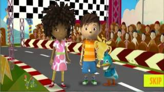 Zack y Quack Pop-Up Speedway! Nick Jr juego
