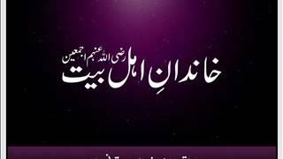 maulana qari haneef multani khandan ahle bait radiallaho anhum ajmain