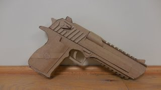 Cardboard Mark XIX Desert Eagle