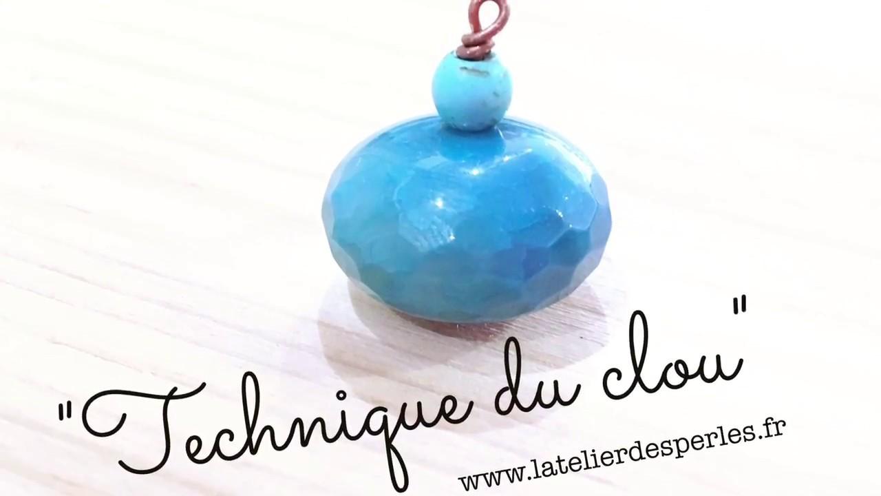 Tuto Diy Technique du Clou bijoux queue de cochon anneau boucle