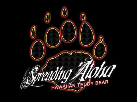 Hawaiian Teddy Bear - Positive Island Vibrations
