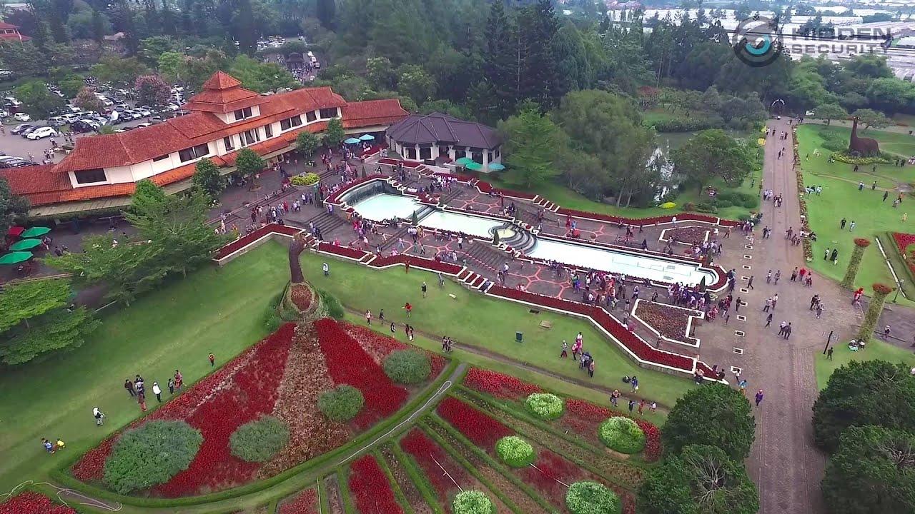 Taman Bunga Nusantara Cianjur Aerial Footage Youtube