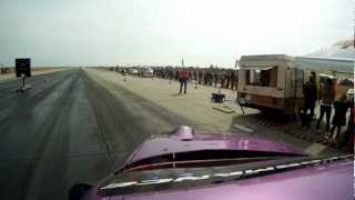 Opel Calibra turbo - Drag race Hungary - GoPro HD -