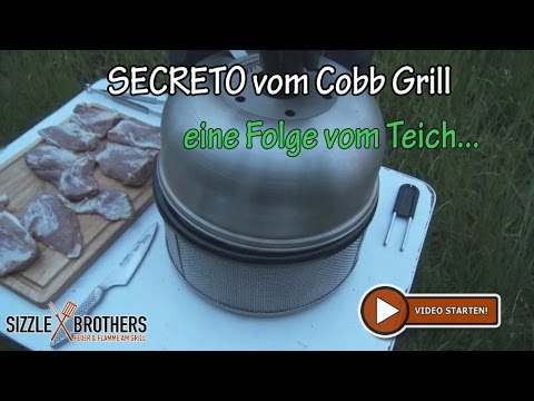 Cobb Gasgrill Pulled Pork : Secreto vom cobb grill grillrezept vom teich youtube