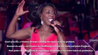 "Oleta Adams live ""Window of Hope"" with English/Deutsch/Português lyrics"