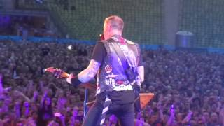 Metallica The Unforgiven II Live In Rockavaria On Stage POV 31 05 2015