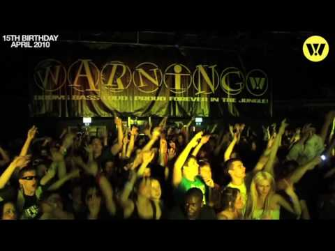 Warning 15th Birthday - April 2010 - The Junction, Cambridge. Chase & Status, Andy C and More!
