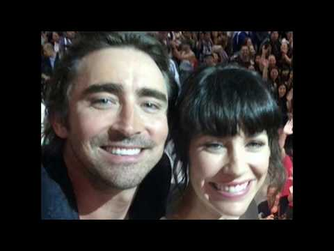 Evangeline Lilly and Lee Pace  Leevangeline