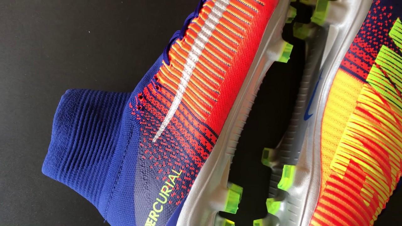 more photos 1b3dd 40328 Nike Mercurial SuperFly V FG Deep Royal Blue Chrome Total Crimson Unboxing!