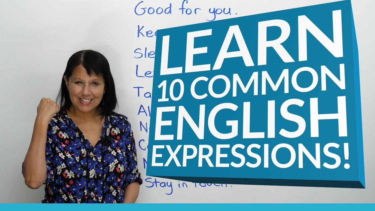 10 Common English Expressions · engVid