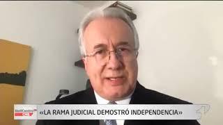 """La rama judicial demostró independencia"""