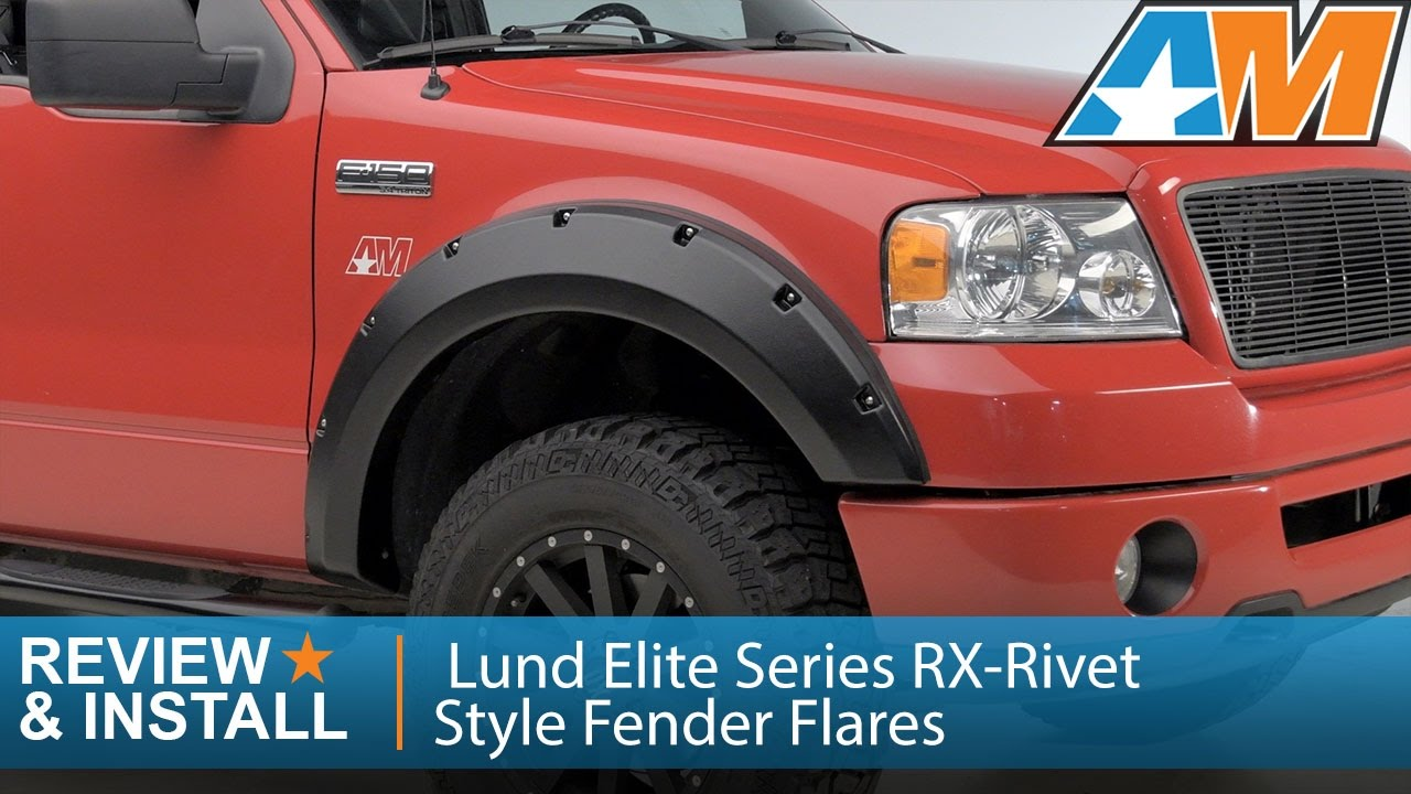 2004-2008 F-150 Lund Elite Series RX-Rivet Style Fender ...