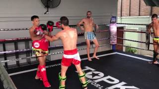 Gery Bavetta SPARRING with