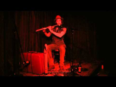 Jethro Tull Locomotive Breath folk/rock/jazz flute with loop pedal cover (LIVE)