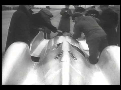 1938 Land Speed Trial Caracciola for Mercedes-Benz