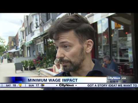 Small businesses brace for impact of Ontario's minimum wage hike