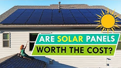 SOLAR PANELS FOR OUR NEW HOME! | Are They Worth It?