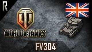 ► World of Tanks: FV304, British Tier VI artillery [6 kills, 2321 dmg]