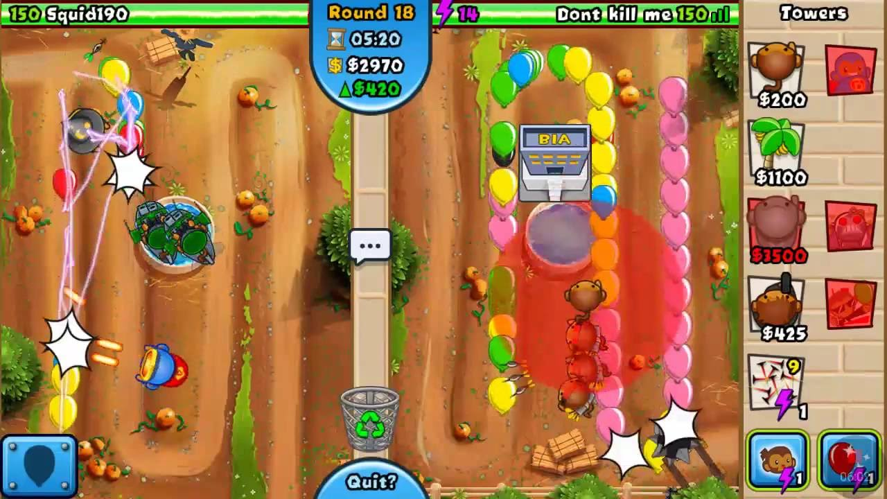 Bloons Td Battles Best Late Game Strategy | Gameswalls org