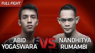 [HD] Abid Yogaswara vs Nandhitya Rumambi || One Pride Pro Never Quit #28