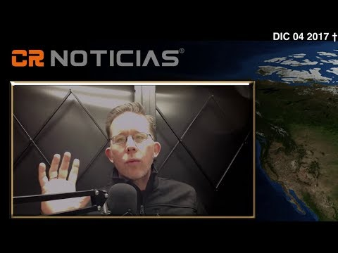 CR NOTICIAS – Resumen de Noticias– con Alex Backman (Dic 04 2017)