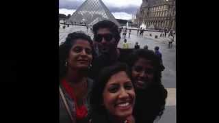 Paris and London with cousins and fiance