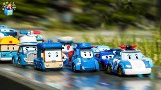 Learning Color Disney Pixar Cars Lightning McQueen tayo bus robocar poli play video for kids