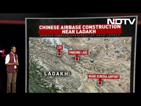 NDTV Exclusive: China Expands Airbase Near Ladakh, Fighter Jets On Tarmac