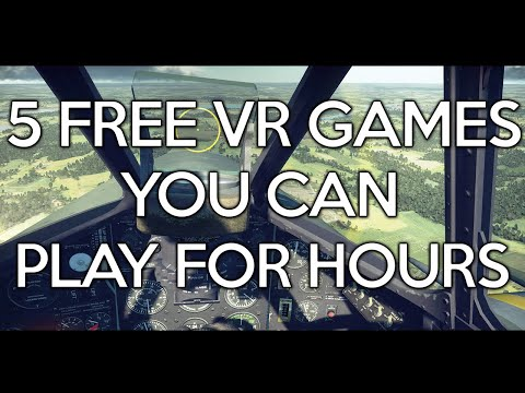 5 Free VR Games You Can Play For Hours