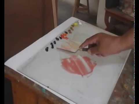 Mezcla de colores para rostro y cabello youtube - Mezcla de colores para pintar ...