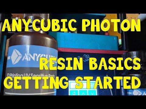 Anycubic Photon 101: Resin Basics: Getting Started - PakVim