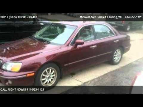 2001 Hyundai XG300 L - for sale in Milwaukee, WI 53210