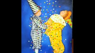 Cuadro infantil - Pintura Acrilica - Claudia Kunze