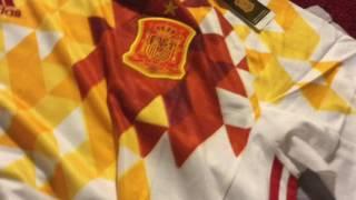 Spain Away Jersey 2016 From Gogoalshop.com