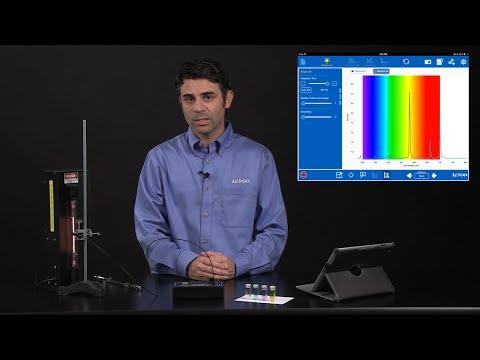 PASCO Spectrometer: Quick Start