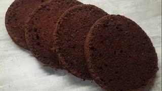 Шоколадный шифоновый бисквит рецепт