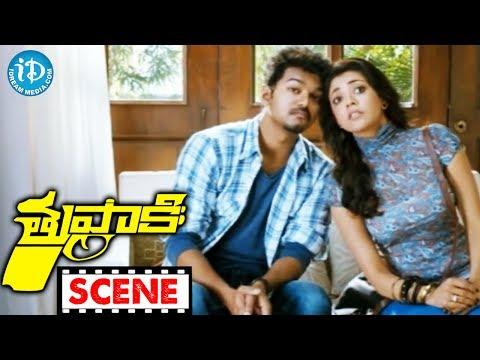 Vijay, Kajal Agarwal Nice Scene - Tupaki Movie