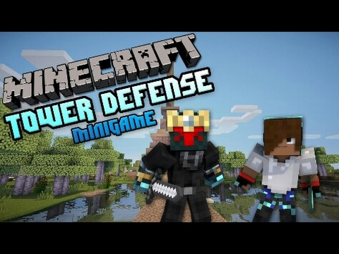 CUBECRAFT Tower Defence (Hacker In Game)