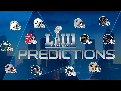 Super Bowl LIII Predictions: Who Will Make it & Who Will Win it All?
