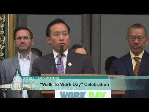 Walk to Work Day Celebration