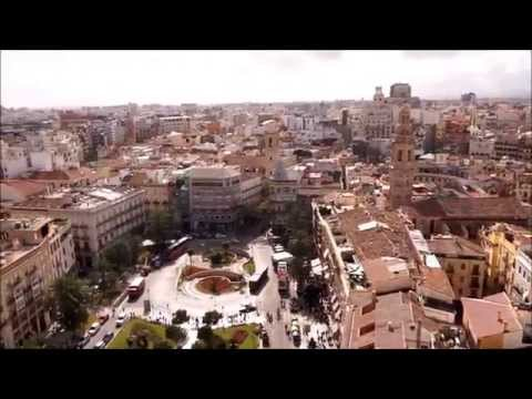 The Plazas Of Valencia's Old Town
