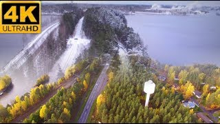 4K FINLAND Punkaharju Fall turns to winter - music: Slow motion by zero-project