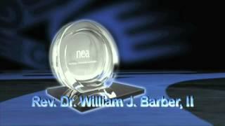2013 NEA HCR Awards WInner Rev. Dr. William Barber II