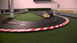 Kurzfilm Carrera Race Porsche GT3 RSR vs Audi R8 LMS by yyy