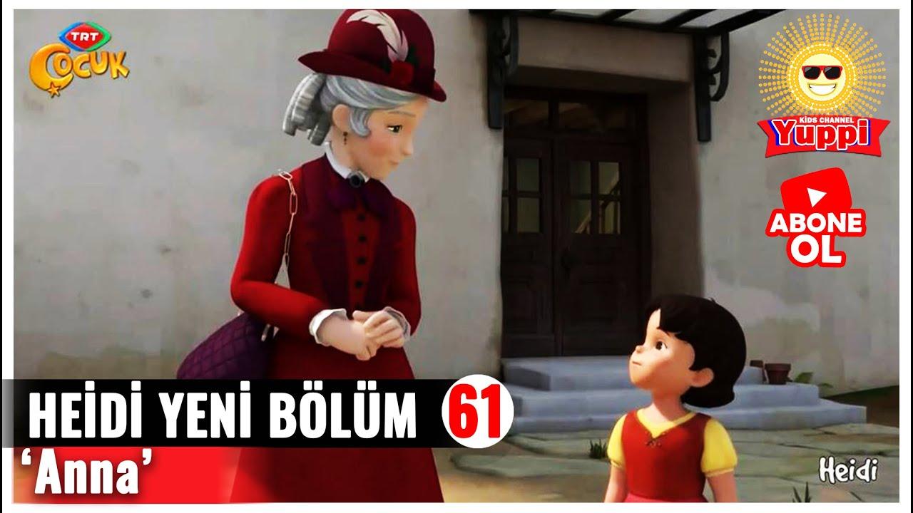 Heidi Yeni Bölümleri 61. Bölüm Anna Heidi Yeni Bölümleri izle 2021- Yeni Bölüm TRT ÇOCUK Heidi
